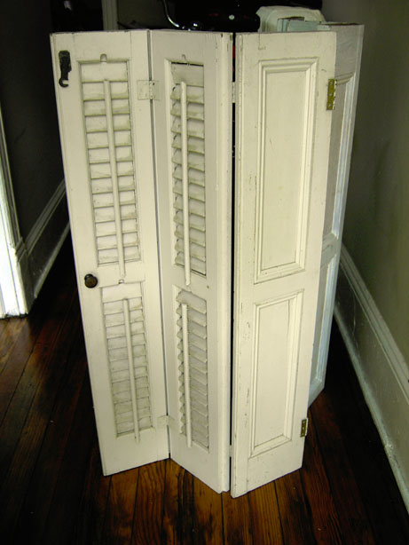 For Sale Antique Traditional Louvered Wood Interior Shutters Bates Area Civic Association