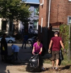 Alley Clean Up at Unit Block of Bates/Q St NW