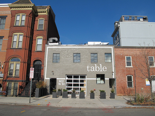 Restaurant Table Now Open At Th N ST NW Bates Area Civic - Table restaurant dc