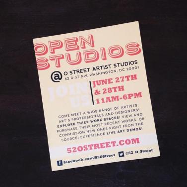 52 O Street Studio Summer Open Studios 2015 06 27