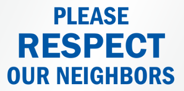 respect our neighors