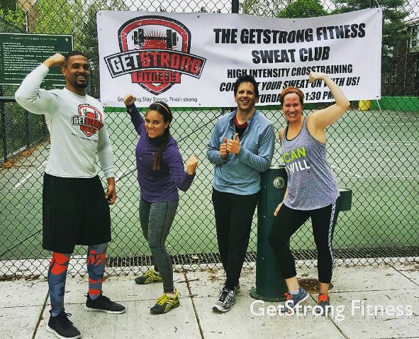 GetStrong Fitness Sweat Club 2016 04 30