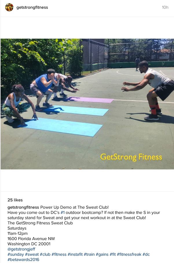 GetStrong Fitness Sweat Club 2016 06 26