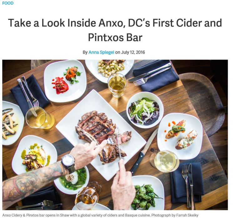 ANXO Cidery Washingtonian 2017 07 13