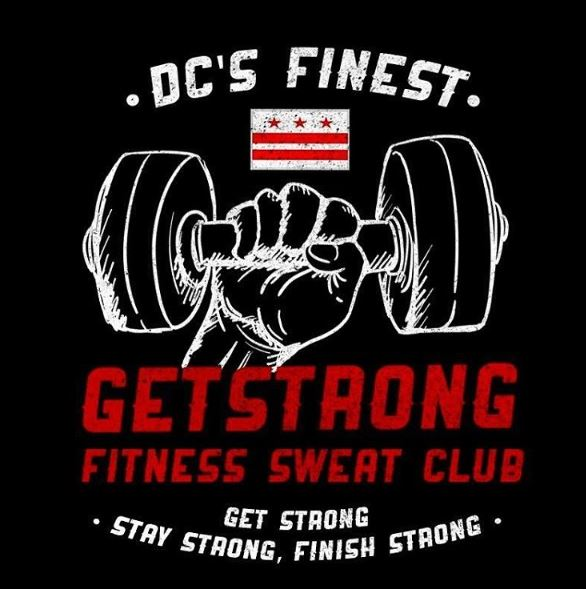 GetStrong Fitness Sweat Club new logo #2