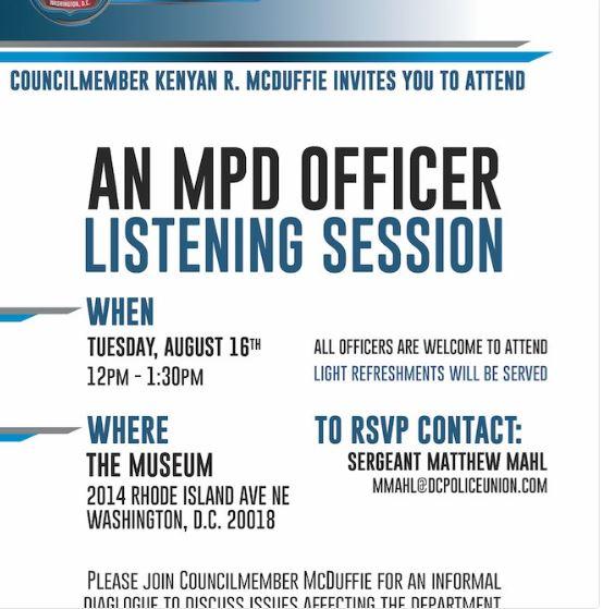 MPD listening session 2016 08 16