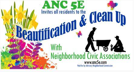 ANC5E neighborhood clean-up