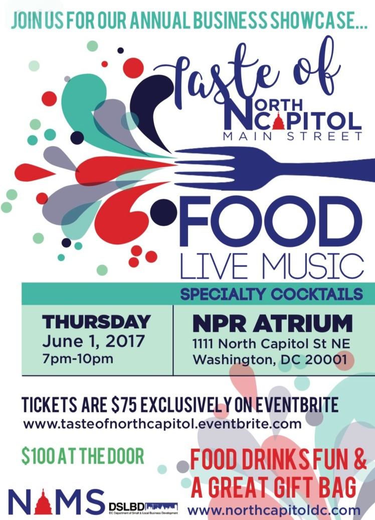 NCMS Annual Business Showcase Taste of NCMS 2017 06 01