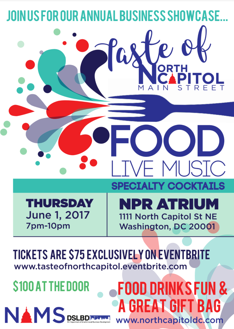 Taste of North Capitol Main Street 2017 06 01