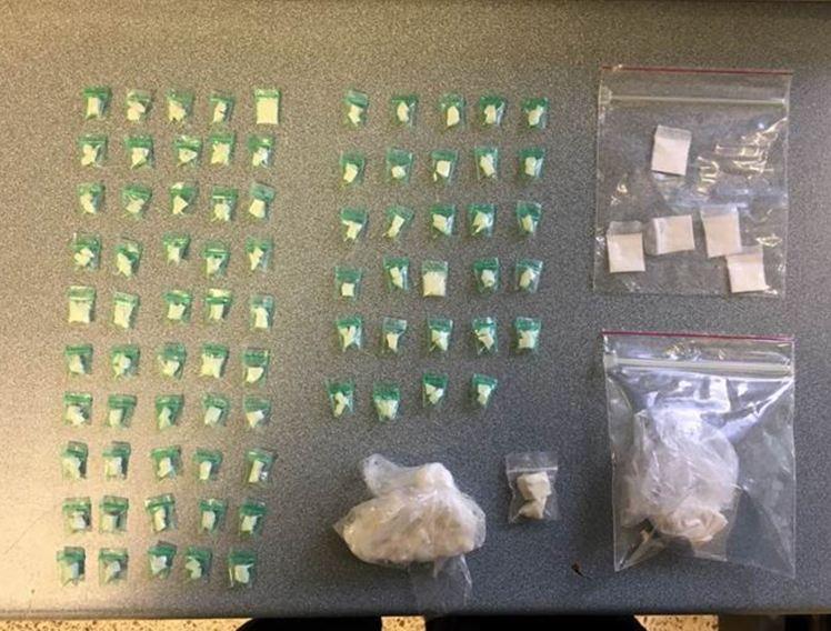 MPD drug arrest unit blk N St NW pic 2017 06 14
