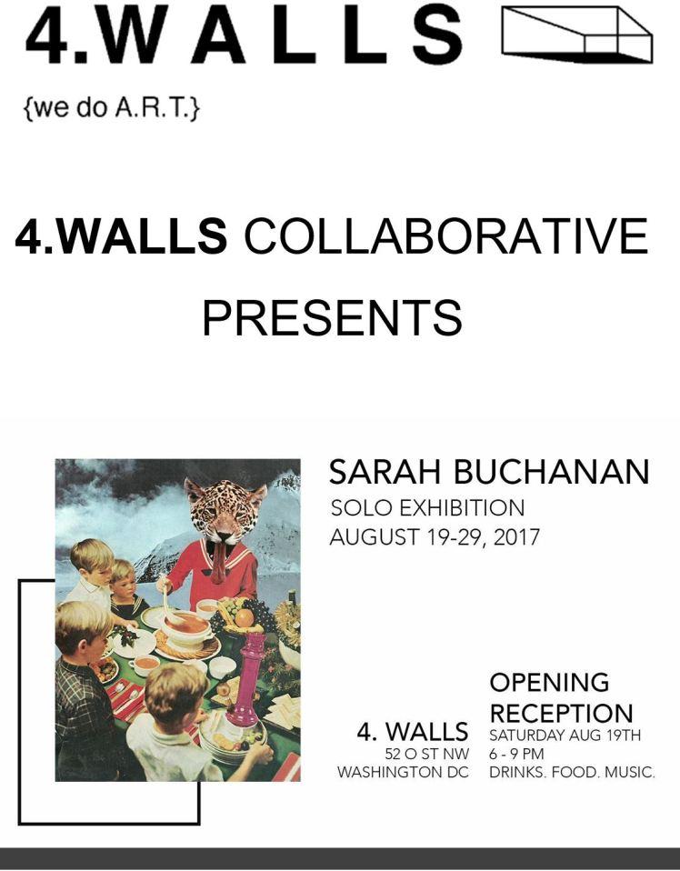 52 O Street Studios Sarah Buchanan Solo Exhibition 2017 08 19