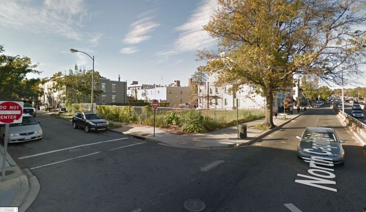 North Capitol Street NW and Hanover Place NW lot 2017 08