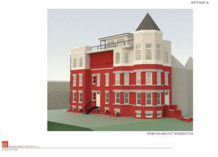 319 R St NW developer option A plan 2017