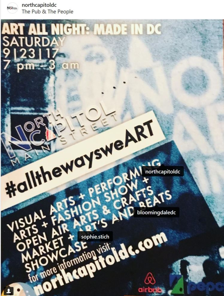 Art All Night 2017 Made in DC #1