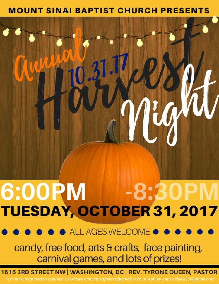 Harvest Night Flyer (v2)