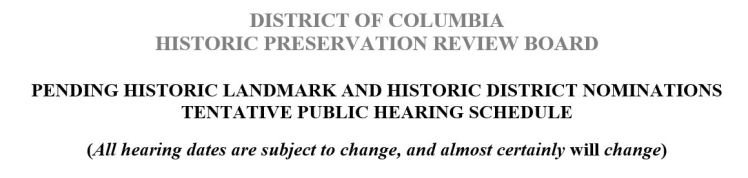 HPRB hearing notice header