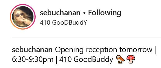 Sebuchanan at 410 GooDBuddy 2018 01 19 #1