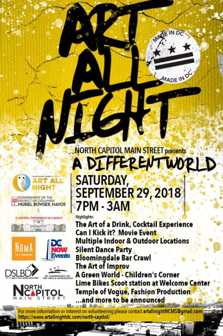 Art All Night 2018 09 29