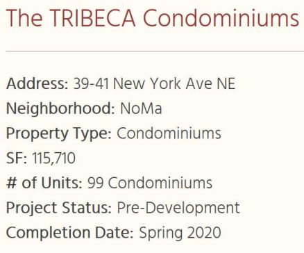 39 41 New York Avenue NE Tribeca condos