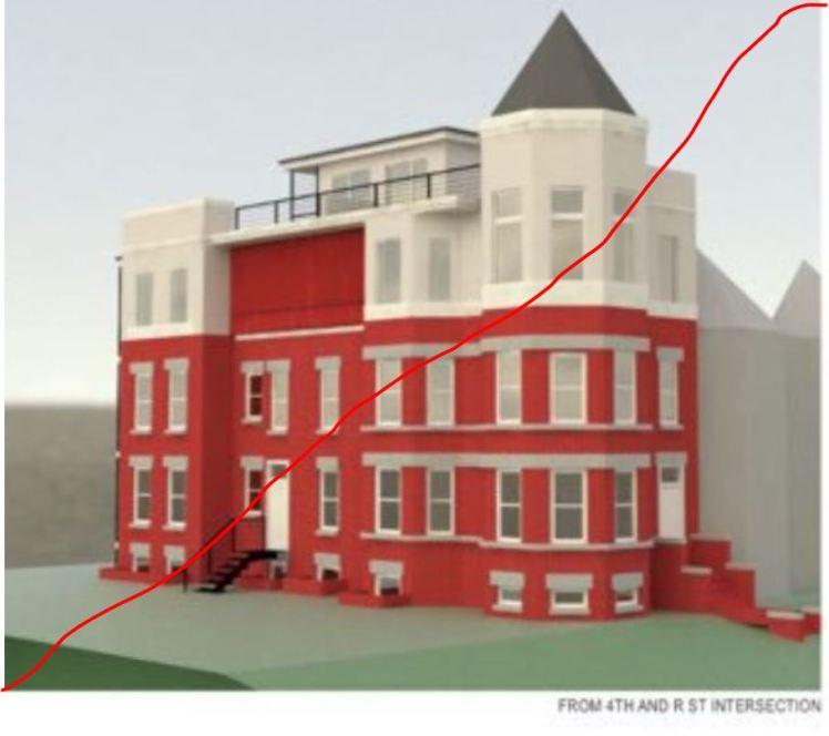 319 R Street NW original rendering