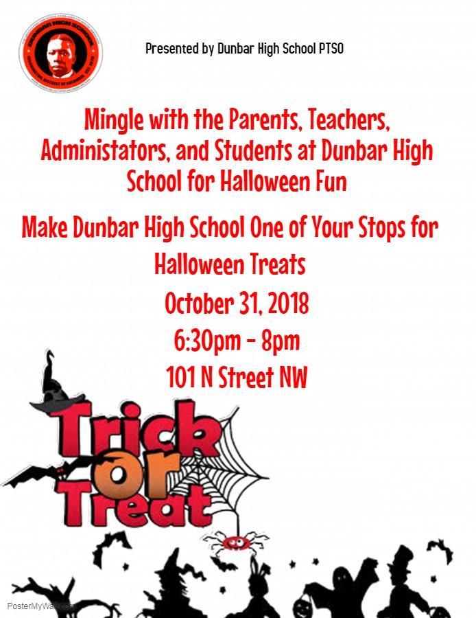 Dunbar High Halloween 2018 10 31