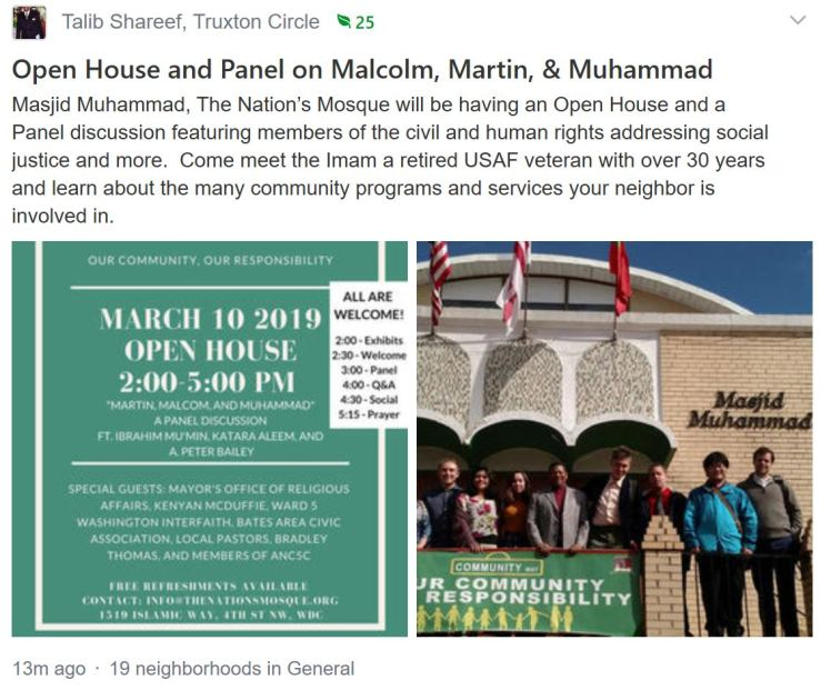Masjid Muhammend open house 2019 03 10