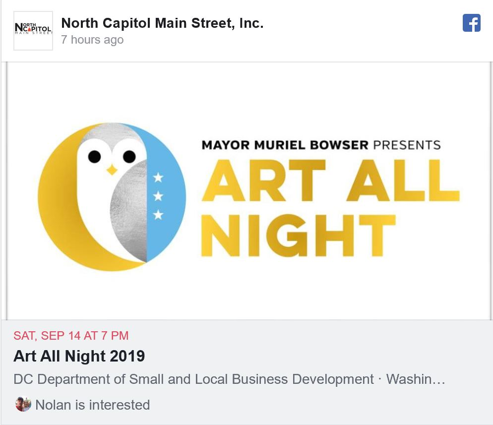 Art All Night 2019
